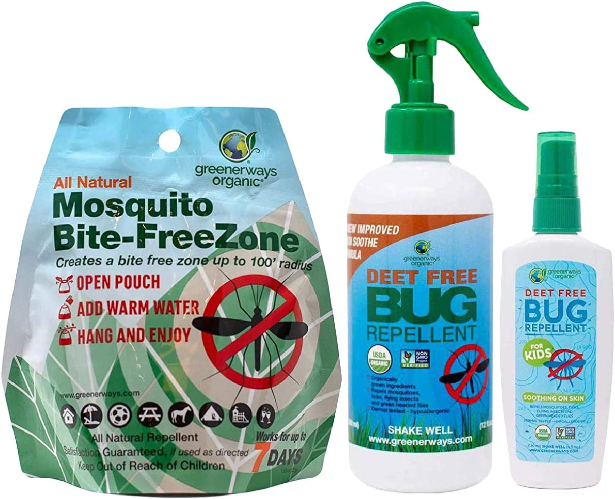 deet free bug spray that works