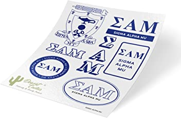 Sigma Alpha Mu Fraternity Cufflinks Sammy
