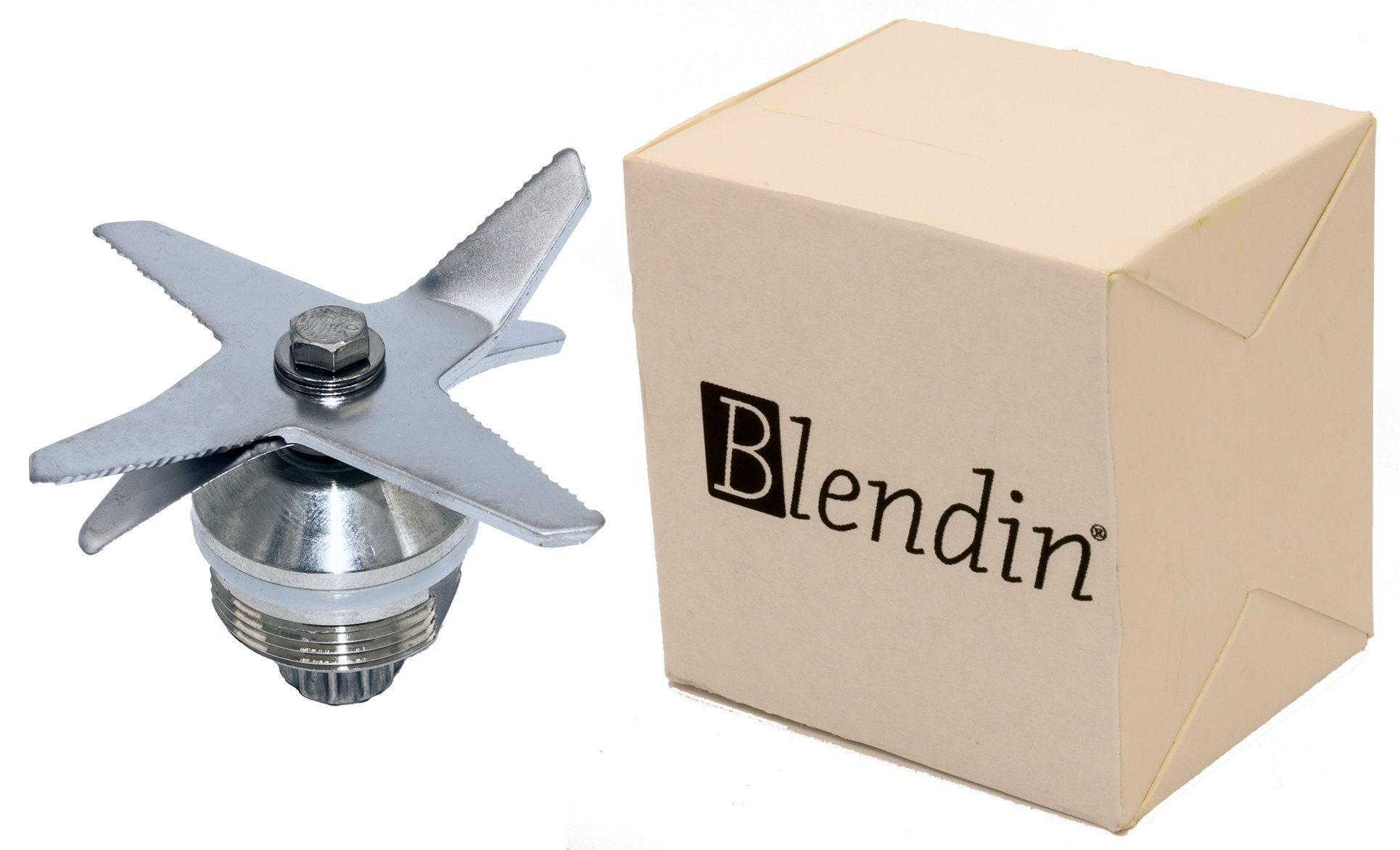 Blendin Stainless Steel Heavy Duty Wet Dry Ice 6 Blades Assembly,Compatible with Vitamix Part 1151, 1152 by BLENDIN (Image #3)