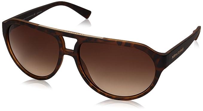 9fbb83b7b21 Armani Exchange Men s Injected Man Aviator Sunglasses