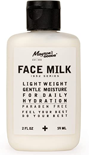1952 Series: 'FACE MILK' Lightweight Gentle Face Moisturizer for Daily Hydration by Mayron's Goods — (2 fl.oz) Certified Organic // Paraben Free
