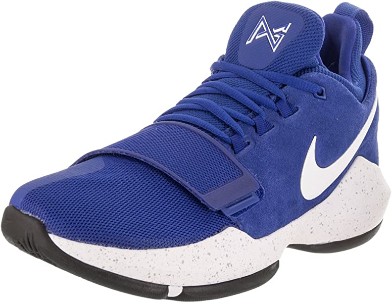 wholesale dealer add70 c8fc9 Amazon.com | Nike Mens Pg1 Leather Low Top Lace Up Running Sneaker ...