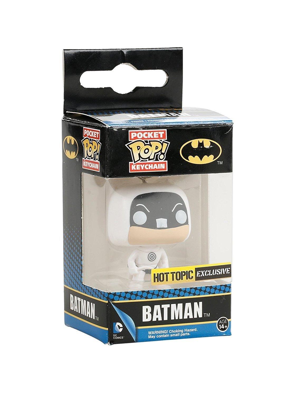Funko - Porte Clé DC Heroes - Batman Bulseye Exclu Pop 4cm ...