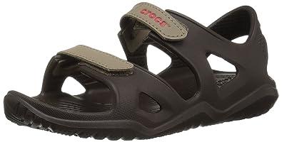 2a6db410de01 Crocs Unisex  Swiftwater River Sandal Kids Open Toe  Amazon.co.uk ...