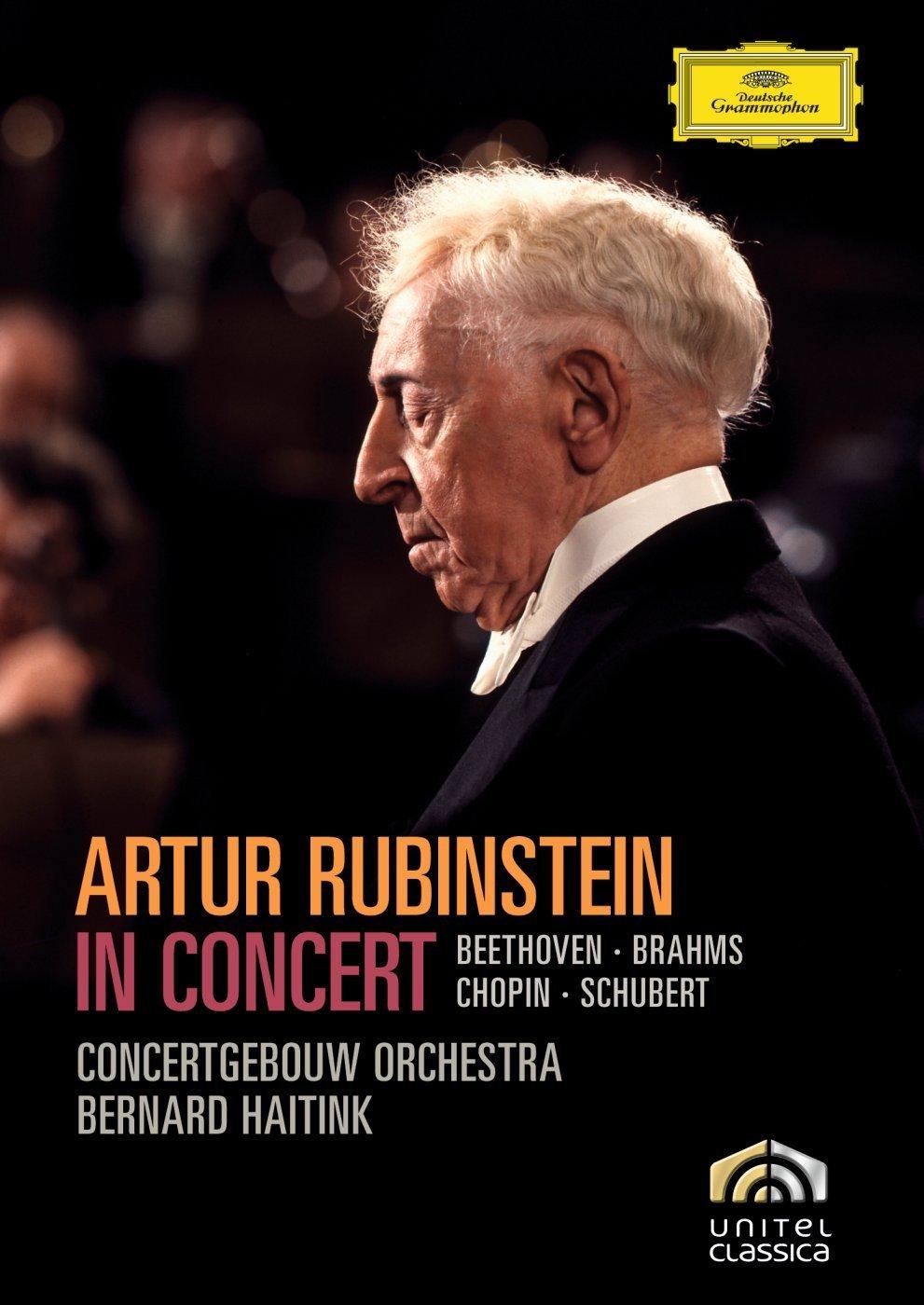 Artur Rubinstein in Concert - Beethoven, Brahms, Chopin, Schubert