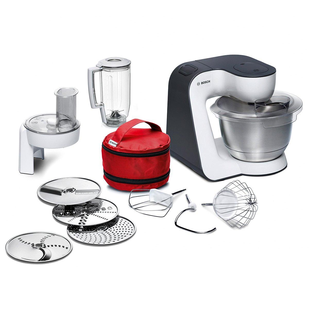 amazon.de: bosch mum50e32de küchenmaschine startline, 800 w, 3, 9 ... - Bosch Küchenmaschine Mum 54251