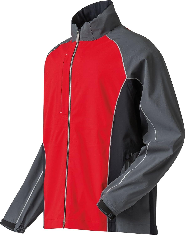 フットジョイ アウター ジャケット&ブルゾン FootJoy Men's DryJoys Select Golf Rain J RedBlackSi [並行輸入品] B0728K77TF  XXL