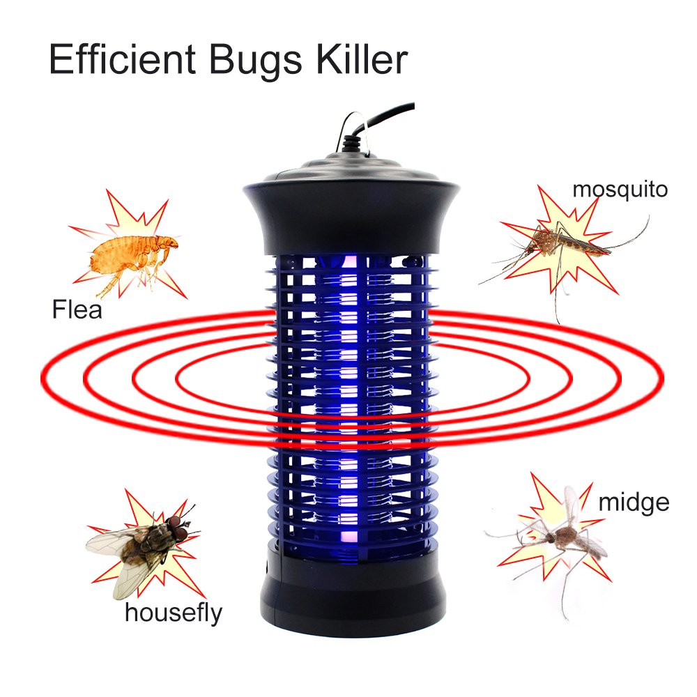 Bug Zapper Mosquito Killer - Mosquito Trap Mosquito Killer Lamp Amazon Hot Cake Non-toxic LED Insect Pest Bug Mosquito Zapper Repellent Trap Repeller with Hook for Indoor Use, by Fomei