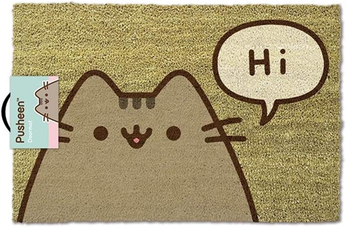 Pusheen The Cat Doormat Pusheen Says Hi