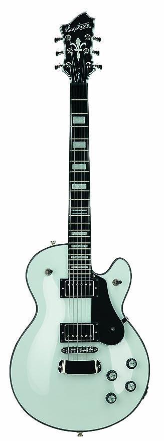 Guitarra eléctrica hagstorm swede - blanca
