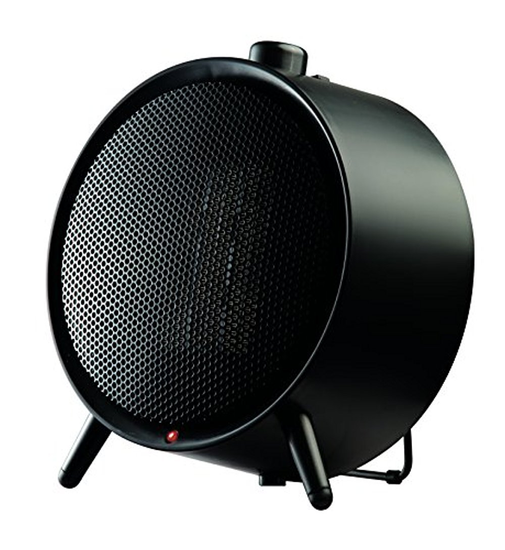 Honeywell UberHeat Ceramic Heater for Powerful Personal Heating in Small Spaces, Black by Honeywell