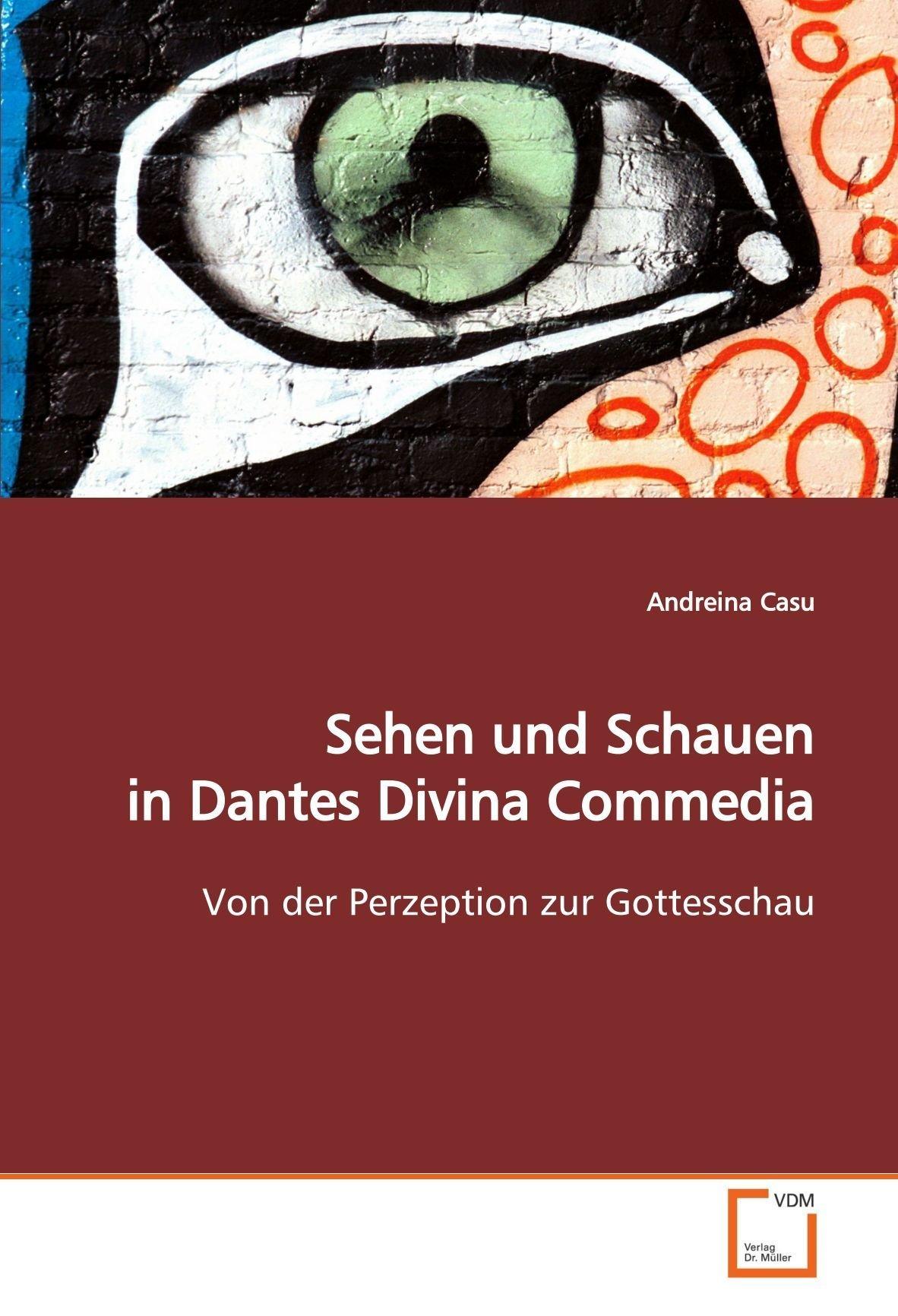 Sehen und Schauen in Dantes Divina Commedia: Von der Perzeption zur Gottesschau (German Edition) ebook