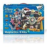 Diset - 46127 - Jeu de société - Jeu éducatif - Disney Pixar - 4 Kits Magnetics