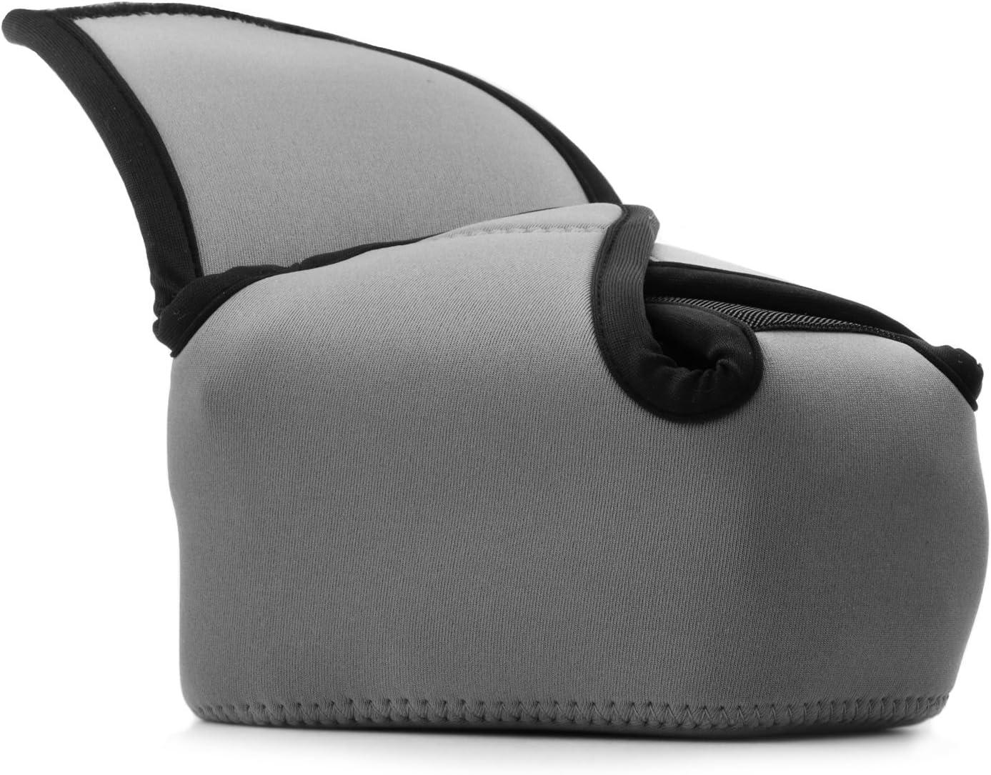 Blue MegaGear MG1335 Ultra Light Neoprene Case with Carabiner for Fujifilm X-E3 Camera