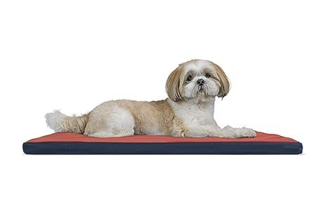 furhaven Pan Cama cajón o de la Perrera Pad de Mascota Perro Cama, Resistente al