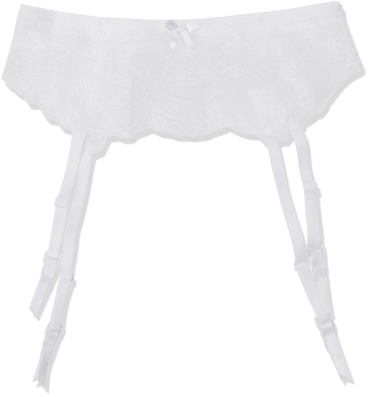 399f32cece5669 Palmers Damen Strumpfhalter Ornamental Lace Srumpfbandgürtel: Amazon ...