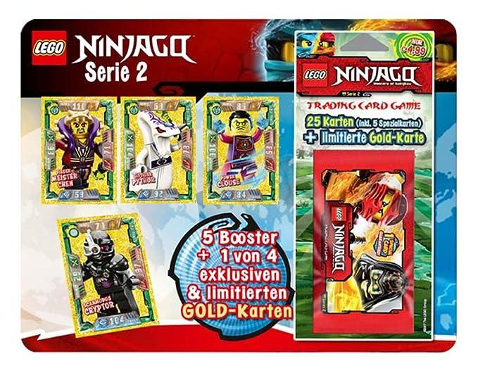 LEGO Ninjago Trading Card Game Serie 2 (Blister) - Deutsch: Amazon ...