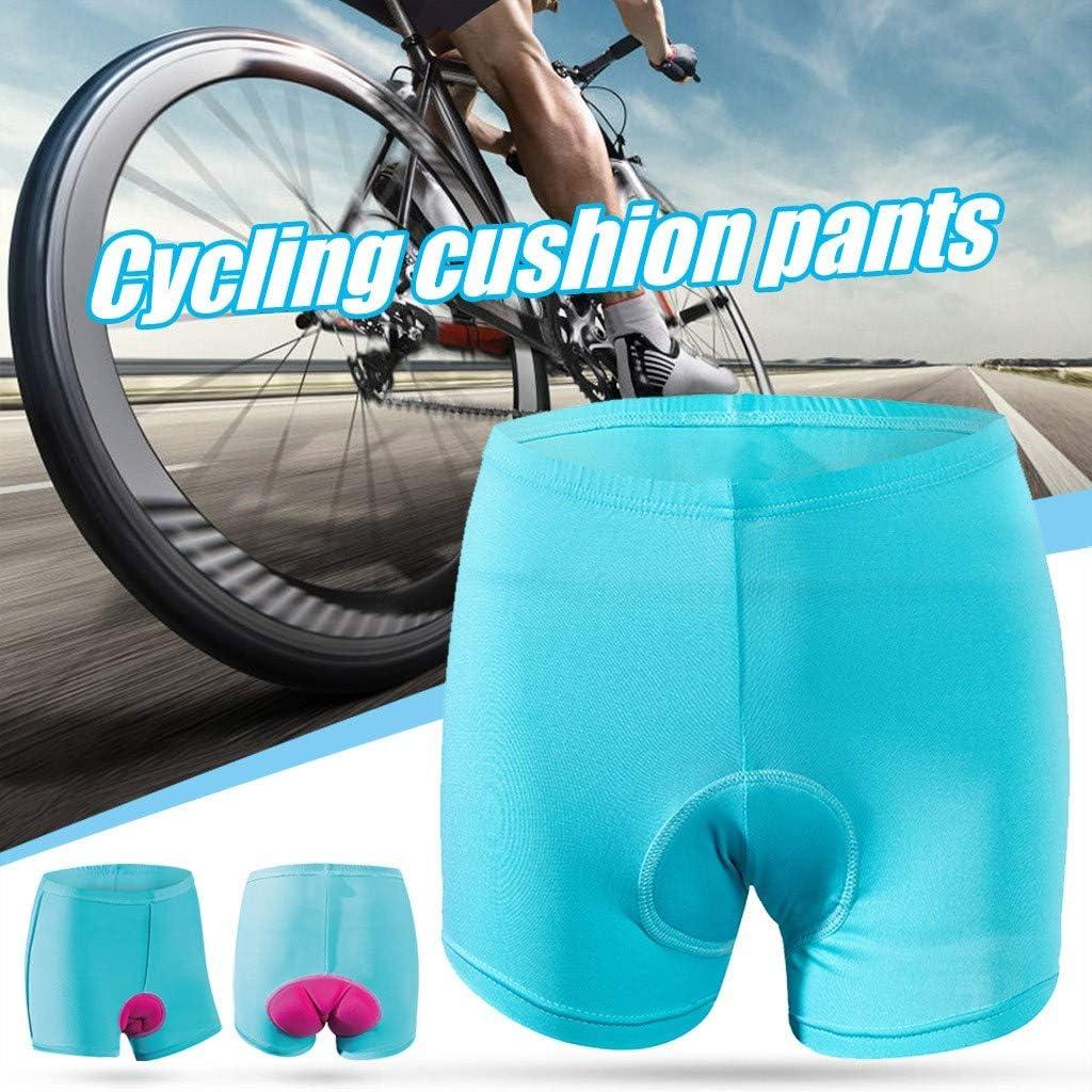 Cycling Shorts Womens Cycling Short Bicycle Short Pants 3D Padded Gel Cycling Undershorts Bicycle Underwear Bike Short Pants Womens Bicycle Cycling Underwear Shorts Anti-Slip Breathable