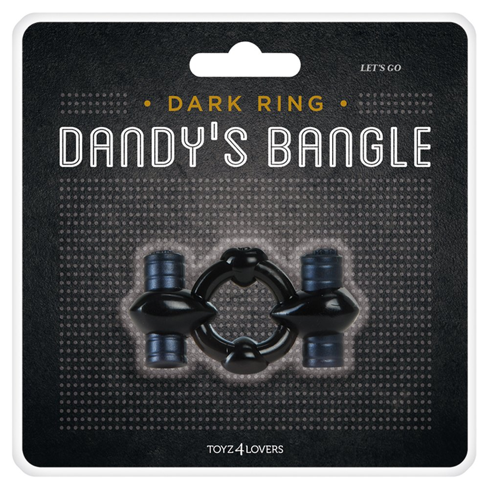 Toyz4Lovers Vibrating Cock Ring Dandy's Bangle Let's Go 00801239