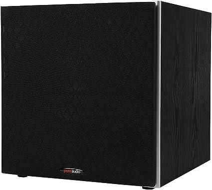 """Calidad Premium Oe Audio 12/"""" Amplificado Activo Individual Sub Woofer Caja Bajo AMP nueva"""
