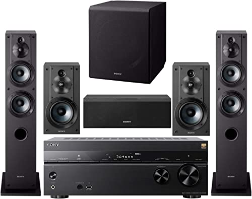 Sony 7.2 Channel 3D 4K A V Surround Sound Multimedia Home Theater System STRDN1080, SSCS3 2 , SSCS5, SSCS8, SACS9 6 Items