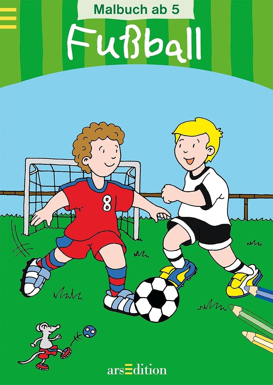 Malb.ab 5: Fussball Malbuch: Amazon.de: Spielzeug