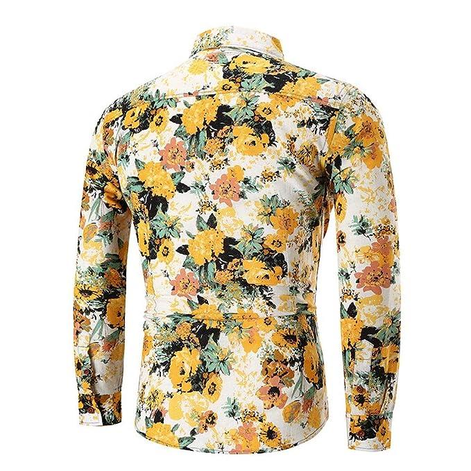 BaZhaHei,polo de hombre, Blusa superior de la camisa de manga larga delgada ocasional del verano de los hombres de la personalidad del manga larga con ...
