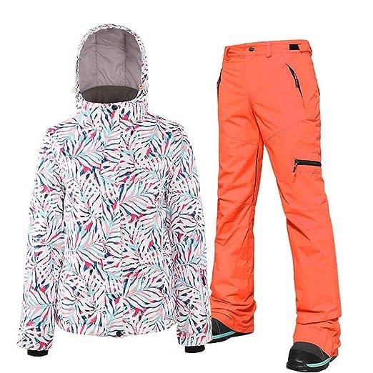 Yhui Traje de esquí Traje Traje de la Mujer Junta Doble Snowboard ...