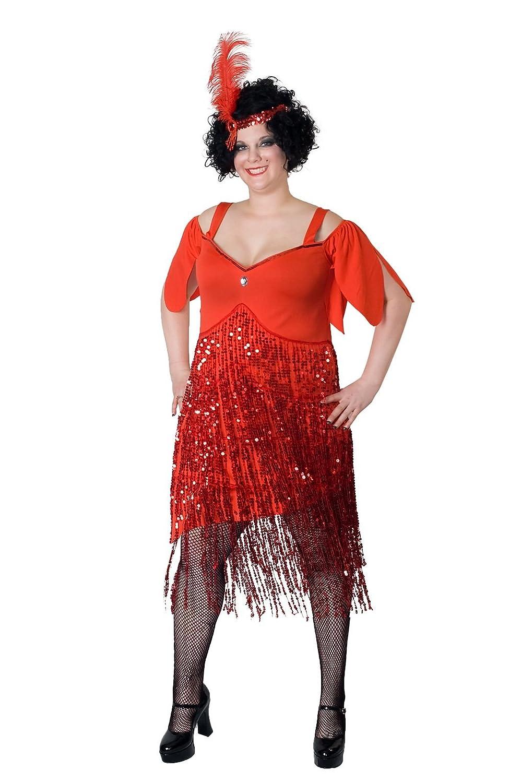 Amazon Sunnywood Womens Plus Size Lava Diva Flapper Clothing