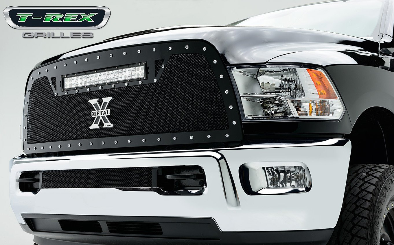 2018 dodge t rex.  Rex Amazoncom TRex Grilles 6314521 Torch Series Grille With LED Light  Automotive Throughout 2018 Dodge T Rex