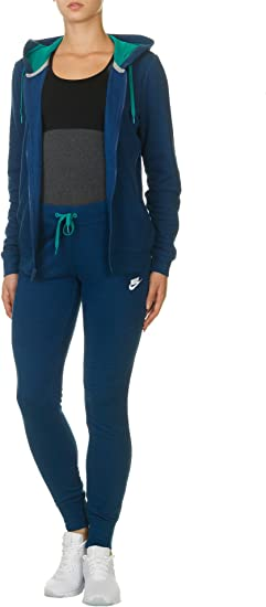 Nike W NSW TRK Suit FLC Chándal, Mujer: Amazon.es: Deportes y aire ...