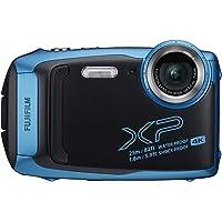 Fujifilm FinePix XP140 - Cámara Digital Impermeable con Tarjeta SD de 16 GB, Color Azul