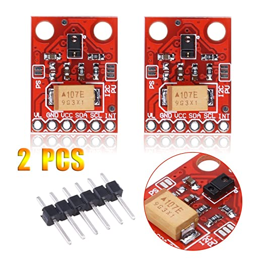 Asidue - Sensor de proximidad para Arduino (2 unidades, RGB): Amazon.es: Electrónica
