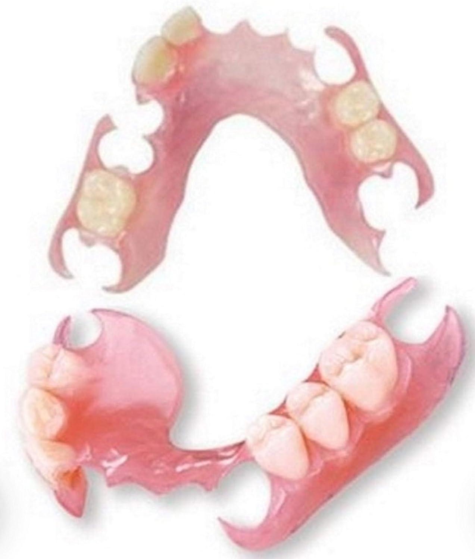 Affordable Flexible Valplast Customized Partial Denture (Pink, Valplast): Industrial & Scientific
