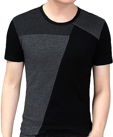 Amazon.es: Camiseta Patchwork