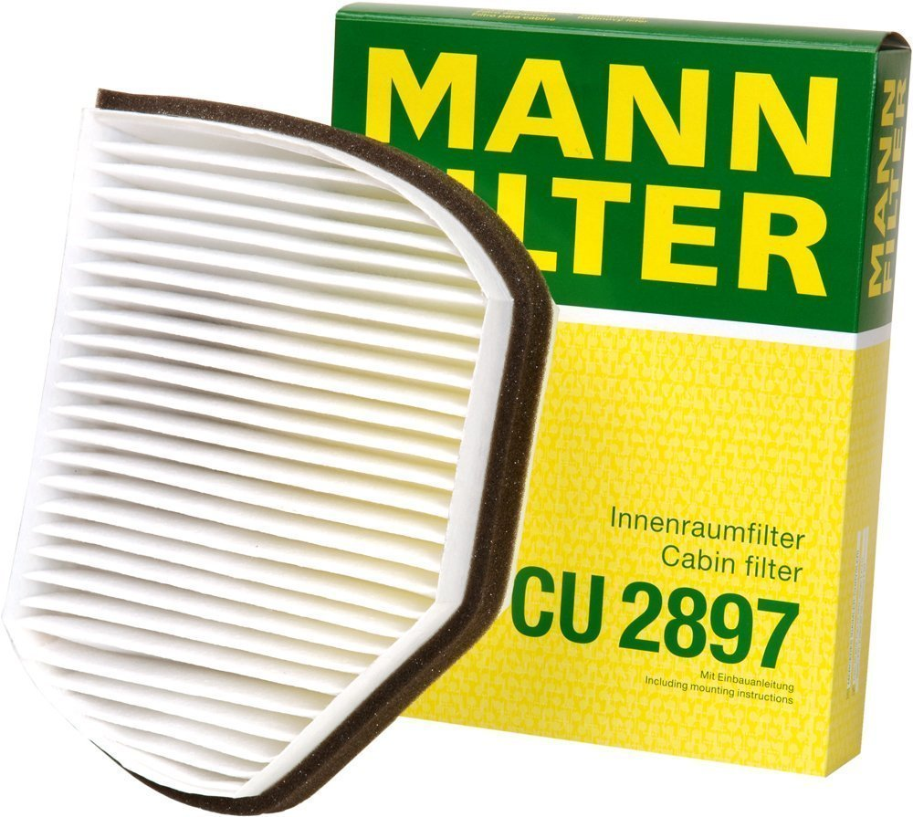 Mann-Filter CU 2897 Cabin Filter for select Mercedes-Benz models