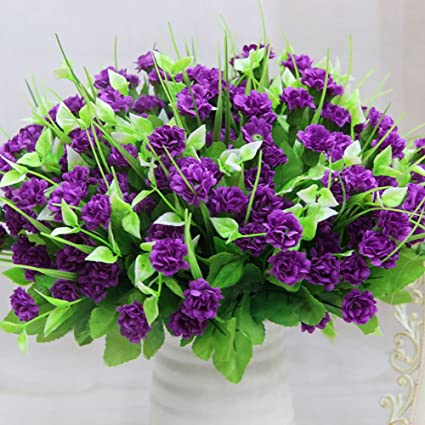 Amazon lopkey artificial lilac silk flower arrangement bouquets lopkey artificial lilac silk flower arrangement bouquetspurple red mightylinksfo