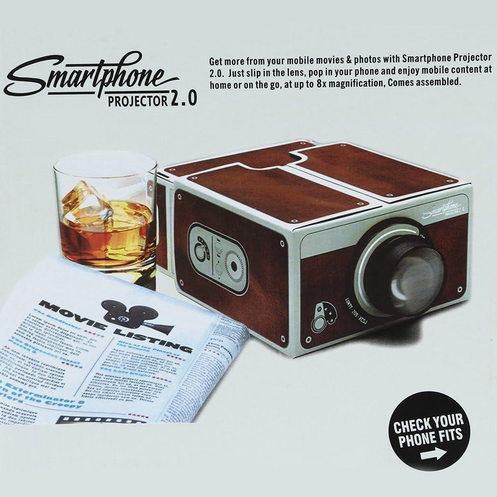 Andoer® Cartón Portátil Smartphone Proyector V2.0 / DIY Proyector ...