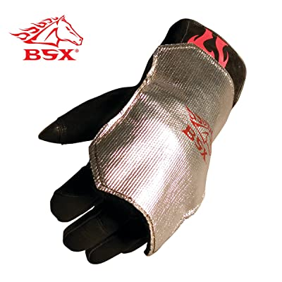 BSX Aluminized Back Pad: Arc Welding Accessories: Industrial & Scientific
