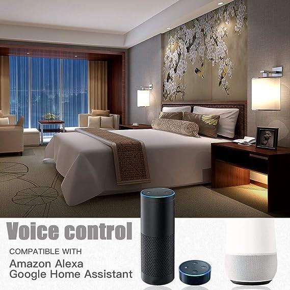 Amazon.com: Taco Mocho LED Bulb Lamps 11W E27 B22 Smart Light Bulb WiFi Voice Control RGB Energy Saving Dimming LED Bulb High Brightness Bombilla: Kitchen & ...