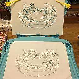 Amazon 新感描スケッチ マジカルイラストレーター メイキングトイ おもちゃ