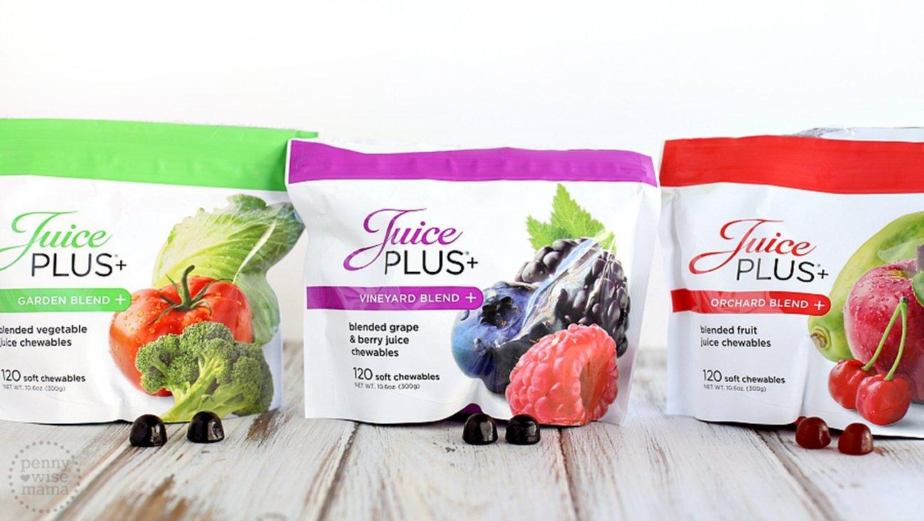 Juice PLUS+ Garden, Vineyard & Orchard Blend Gummies - 2 Month Supply