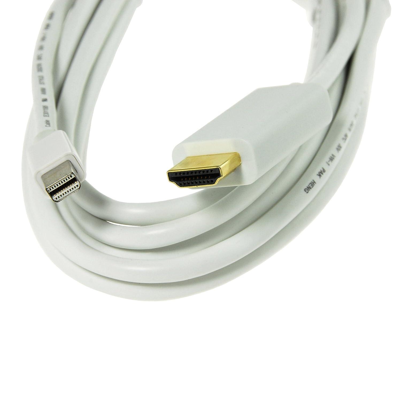 KanaaN Thunderbolt Mini DisplayPort to HDMI Adapter: Amazon.co.uk ...