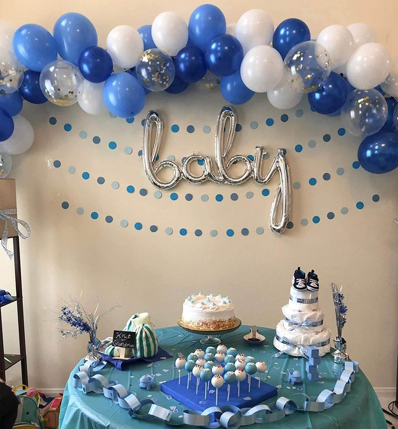 Royal Blue And Gold Party Decorations from images-na.ssl-images-amazon.com