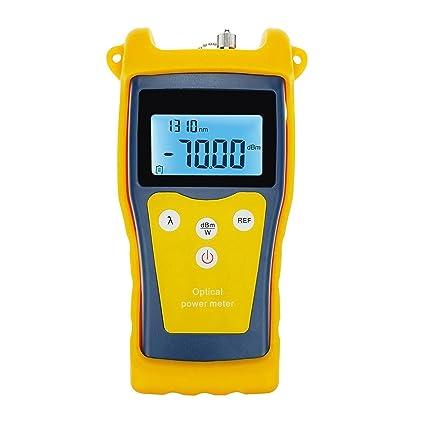 Nueva Óptica De Fibra Óptica -50 ~ +26 DBm Medidor De Potencia Tester Eng