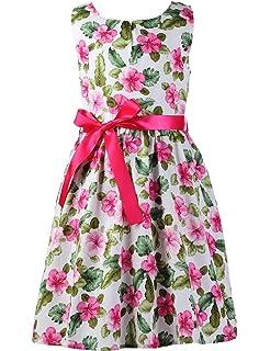 6c1762ab438d Amazon.com  Abalaco Girls 100% Cotton Colorful Polka Summer ...