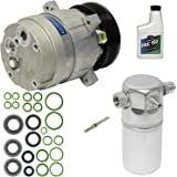 Amazon com: AC Compressor w/A/C Drier, Orifice Tube, Oil