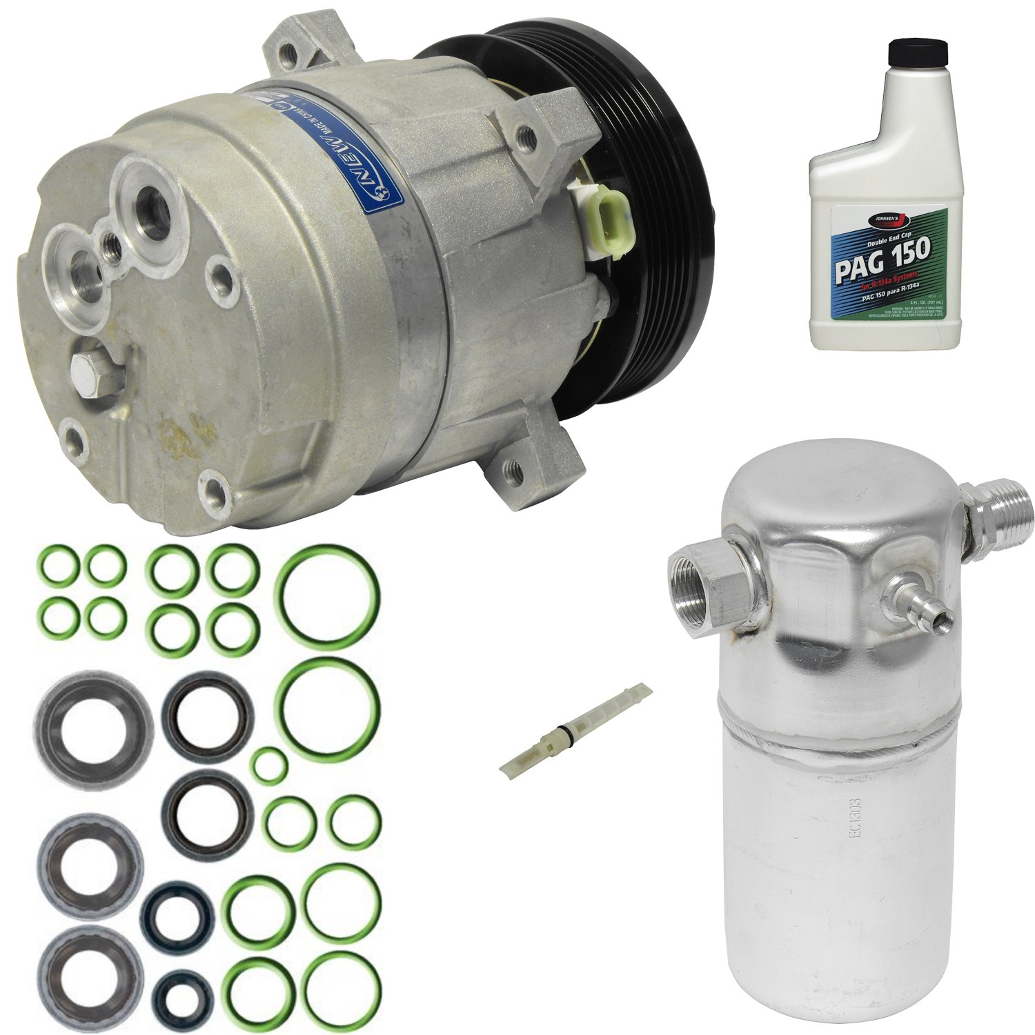 Universal Air Conditioner KT 3577 A/C Compressor and Component Kit