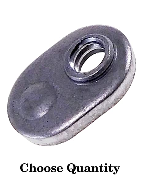What Kind Of Nut Has A Hole >> Amazon Com Single Tab Weld Nut With Target Spot Weld Nuts 10 32