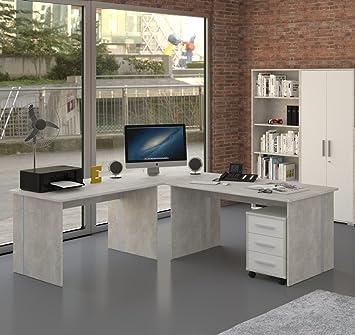 Muebles Pracht – Mesa de Escritorio en Esquina Escritorio Oficina ...